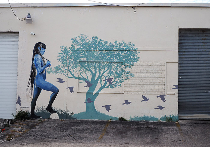 Miami Hileah district street art