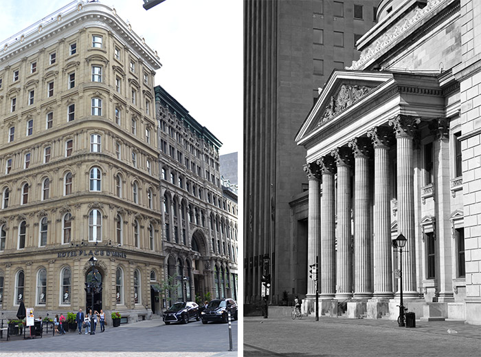 architecture vieux Montreal