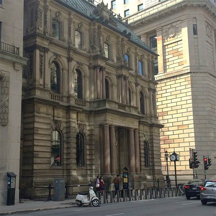 Montreal Molsons bank