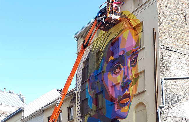 ostende Dourone street art