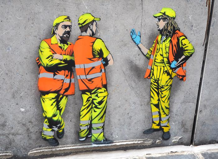 Jaune artist Belgium Ostende