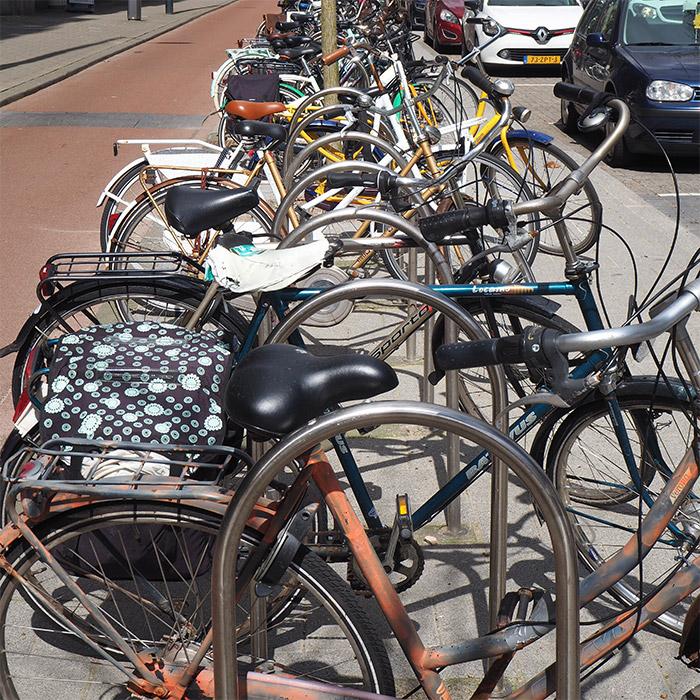 bikes in Rotterdam Netherlands