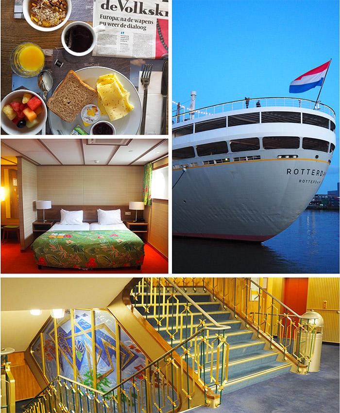 ss rotterdam ship hotel