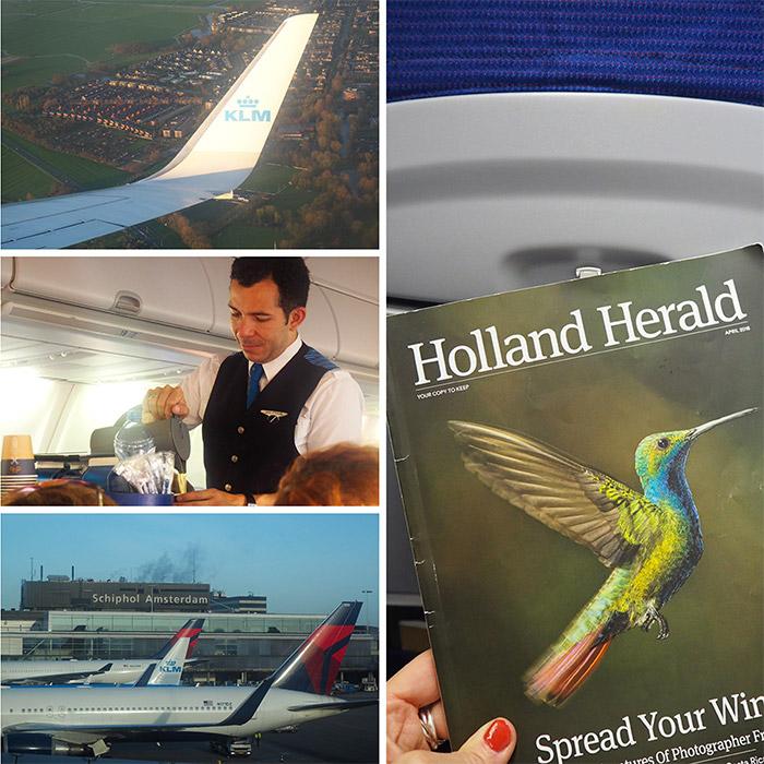 rotterdam vol klm avion