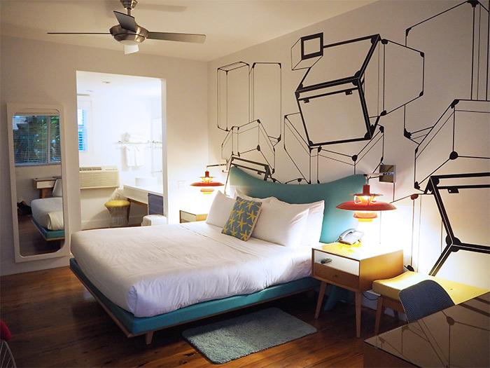 Miami Vagabond Motel bedroom