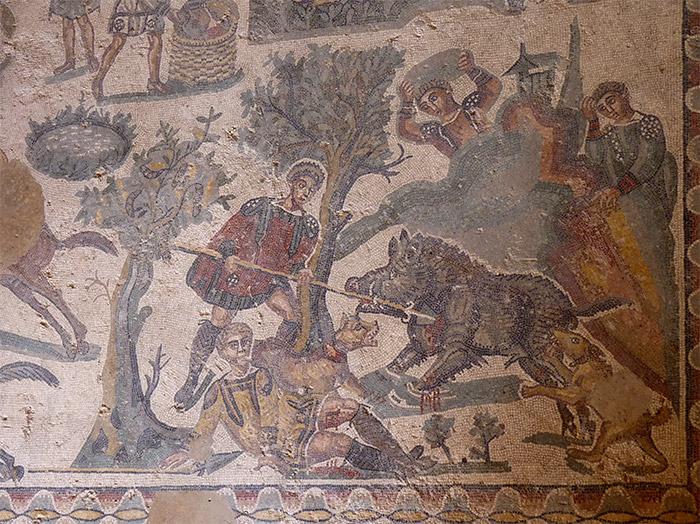 Sicile villa romana casale