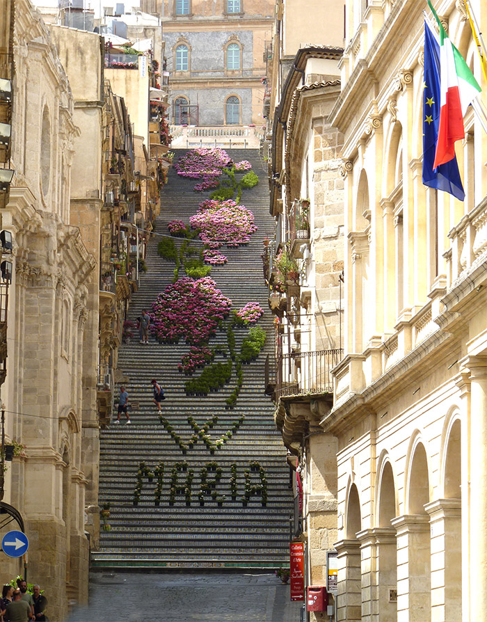 escalier santa maria caltagirone