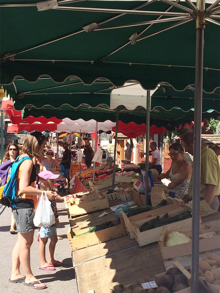 marché primeurs Annecy haute savoie