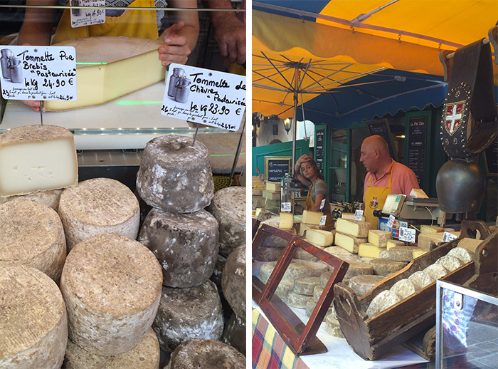 Annecy fromages marché