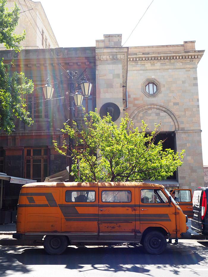 autobus yerevan armenie