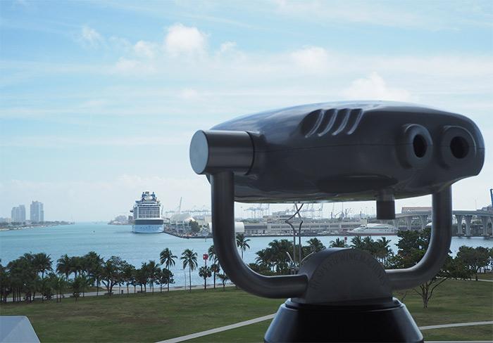 Miami museum park view