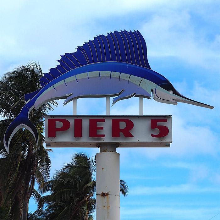 Miami Bayside pier 5