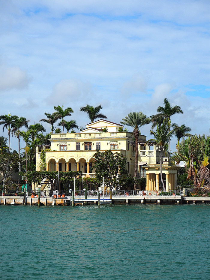 Miami cruise villas millionaire