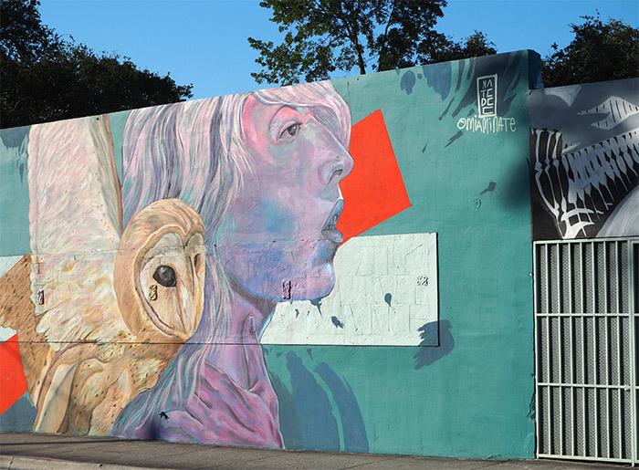 Nate Dee street art Miami