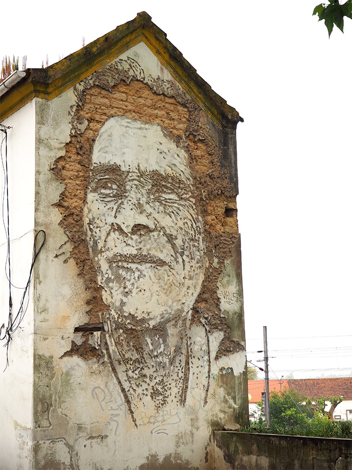 Portugal Estarreja vhils estau