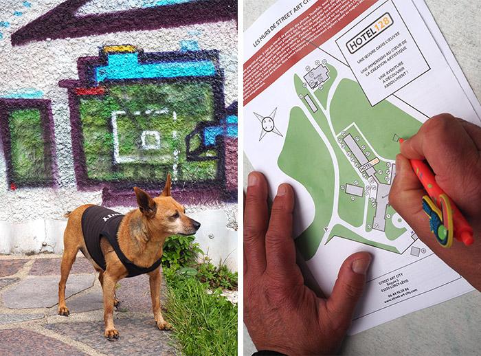 street art lurcy levis