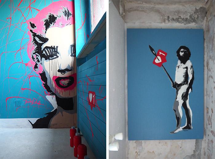 street art city hotel 128