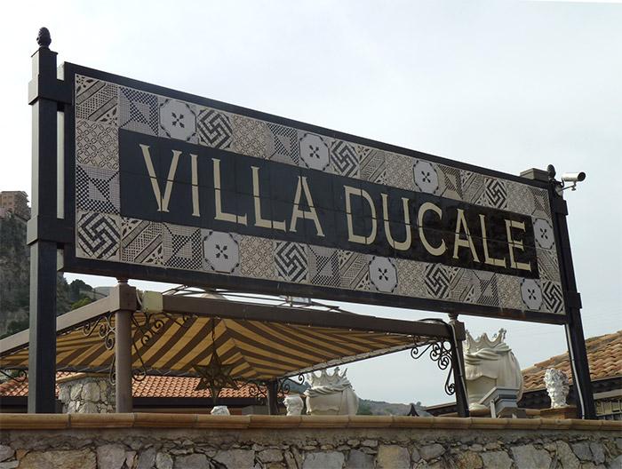 Taormina villa Ducale
