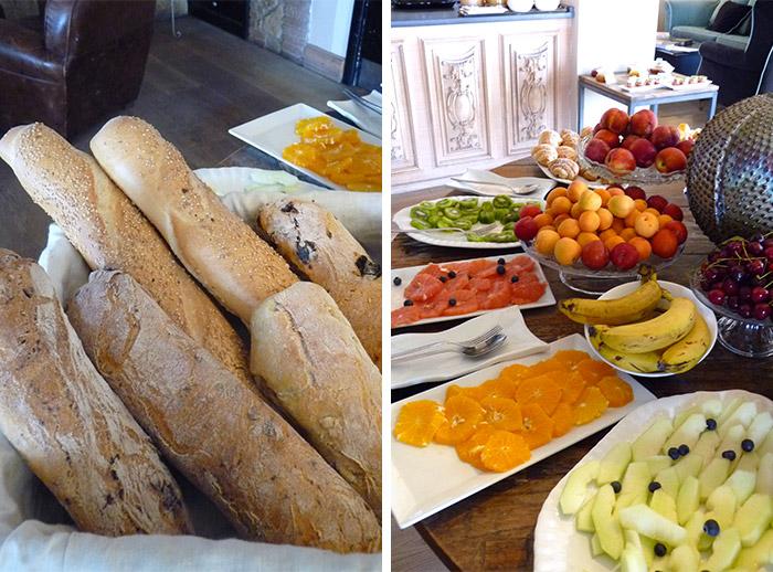 taormina petit dejeuner villa ducale millevista