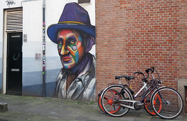 rotterdam street art mural