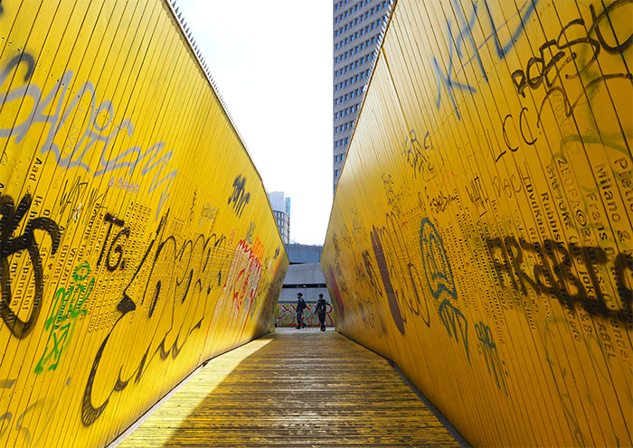 rotterdam yellow path