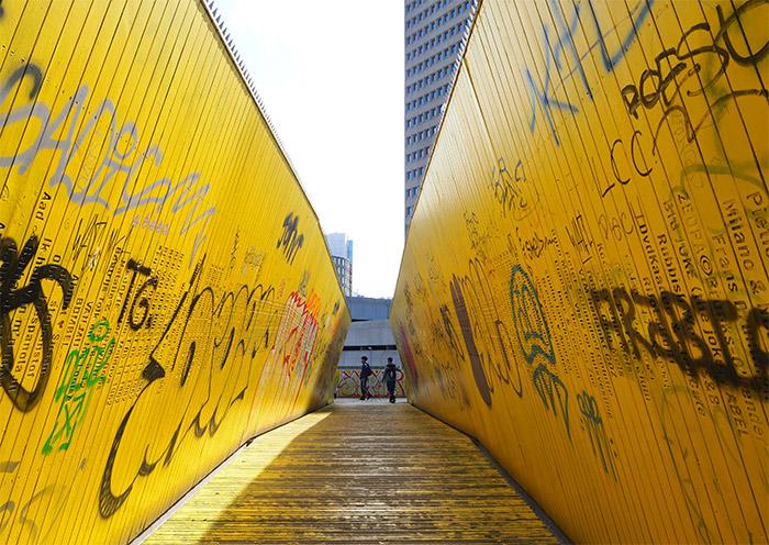 rotterdam yellow path