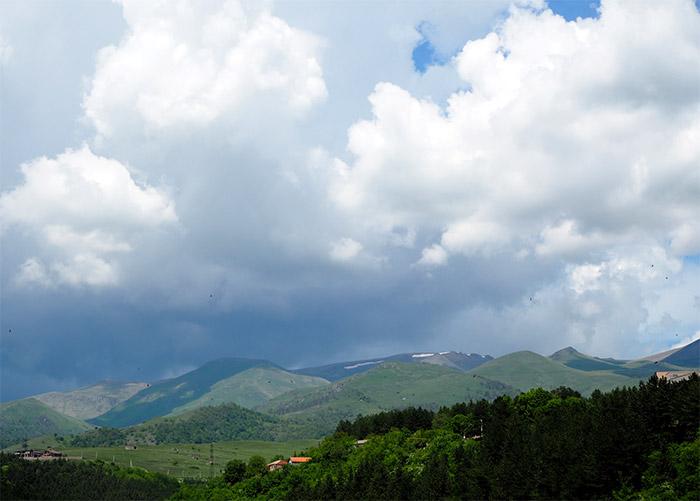 montagnes Tavush Arménie