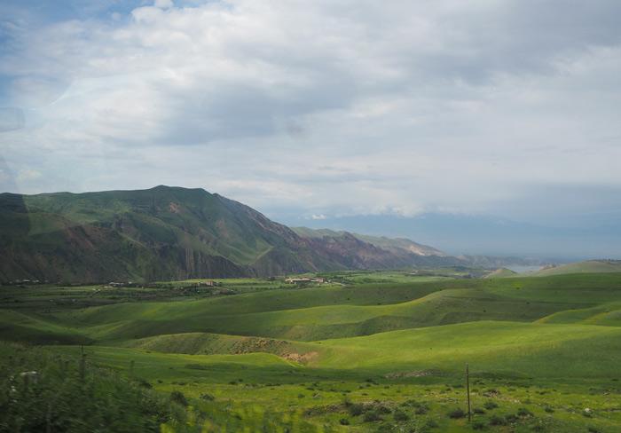 armenie paysage montagne tavush