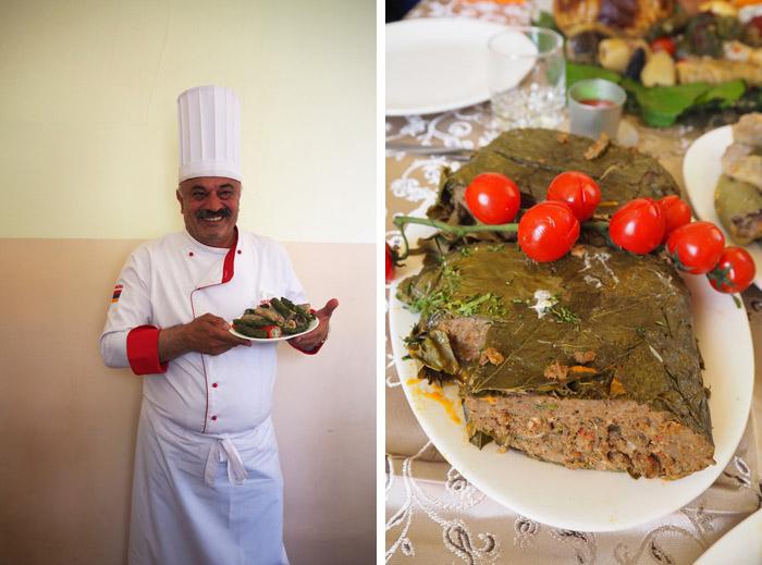 Armenie dolmas gastronomie