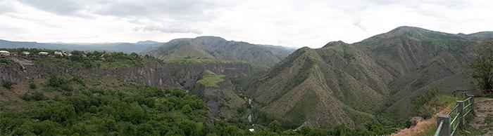 armenie paysage garni