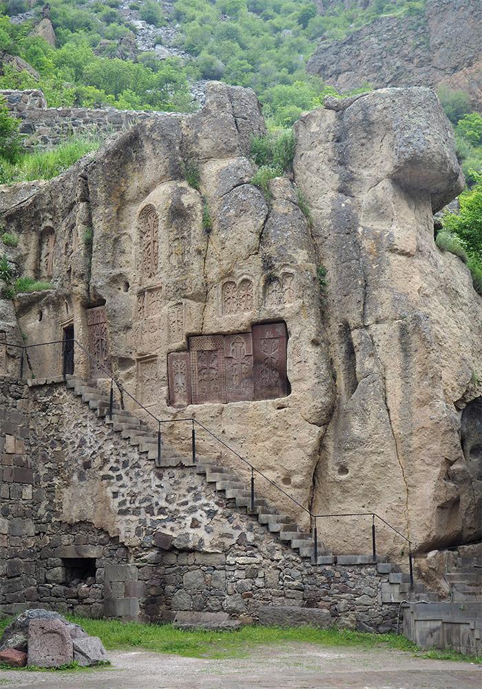 Armenie monastère Geghard