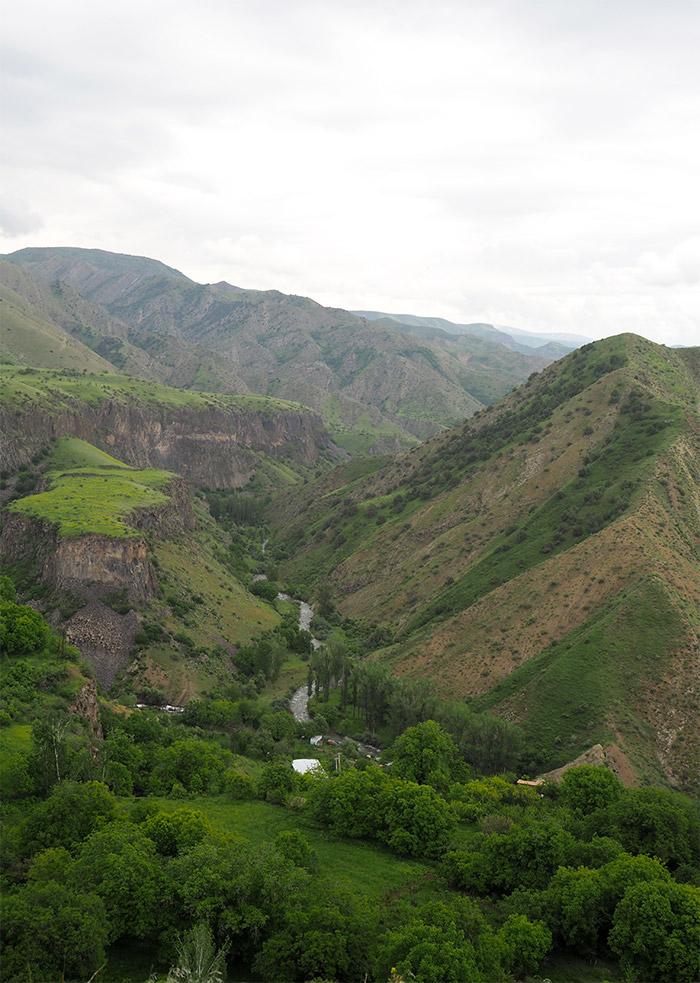 Armenie temple garni