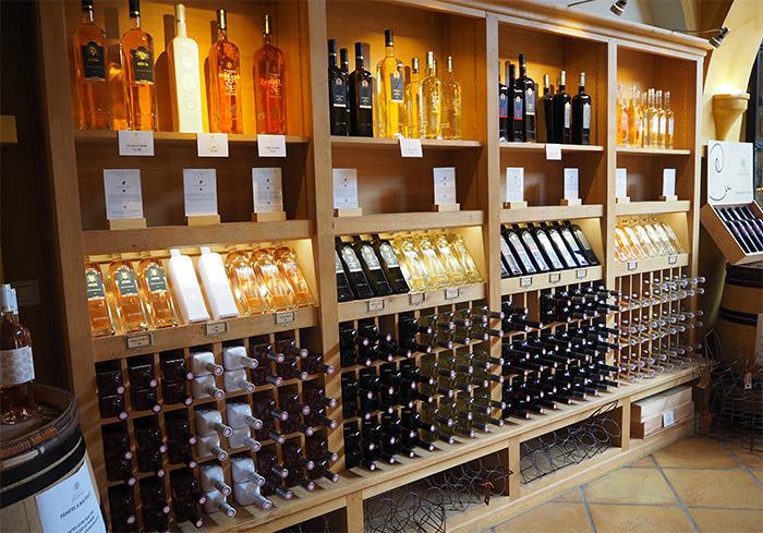 caveau chateau berne vin