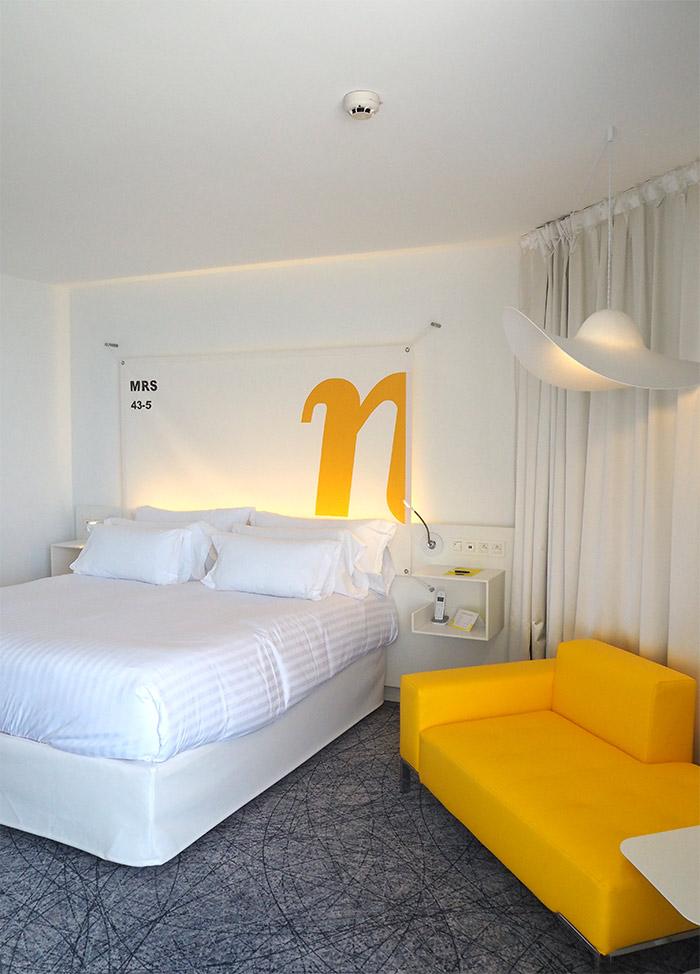 chambre NHow Marseille