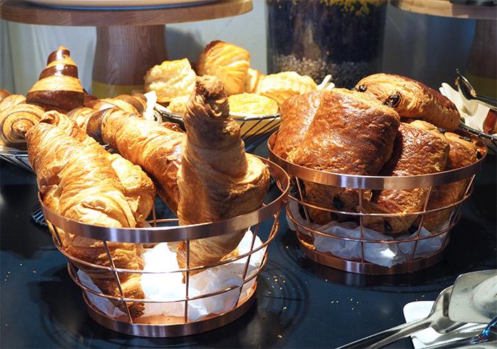Marseille croissants hôtel NHow