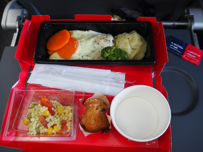 Norwegian repas à bord