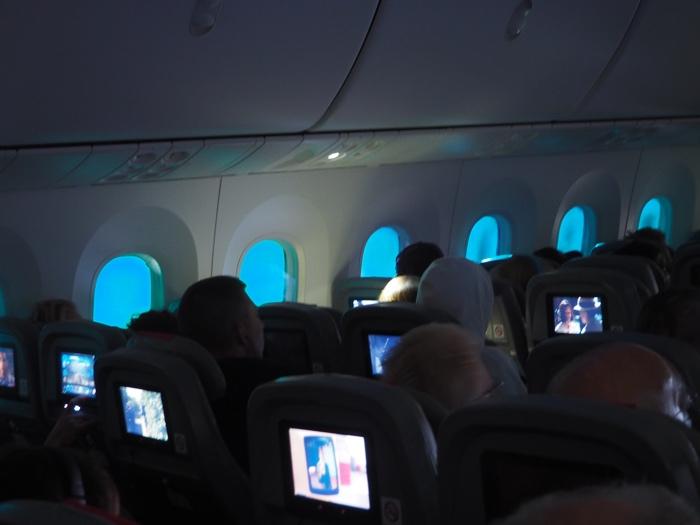 Norwegian cabine avion