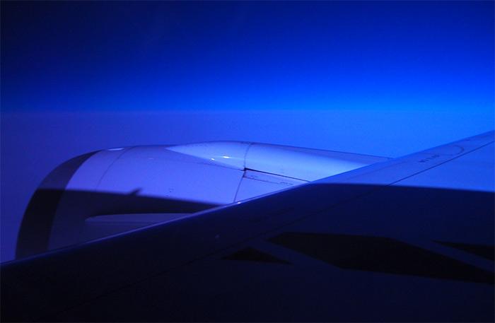 Norwegian Denver plane