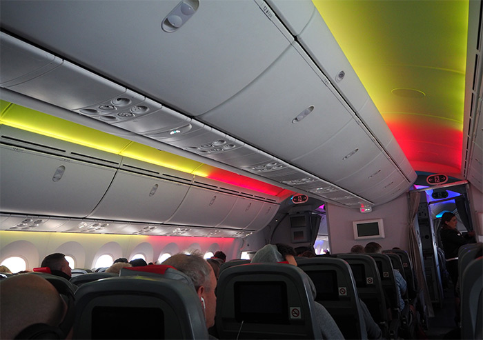 Norwegian lighting Dreamliner