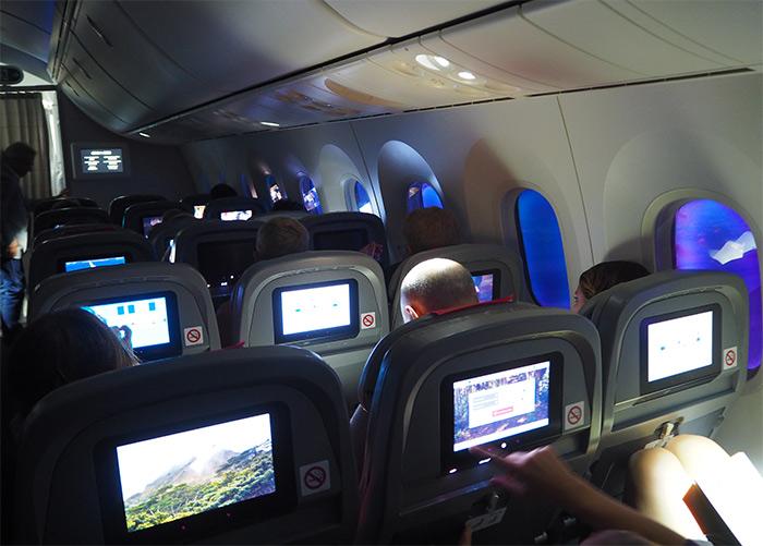 Norwegian cabine dreamliner economy