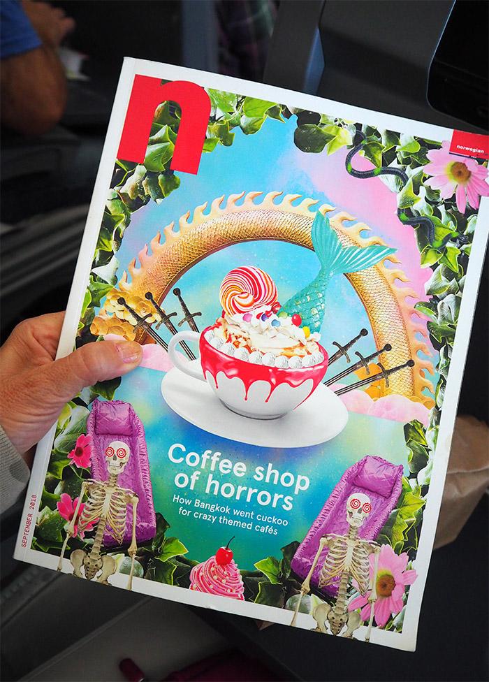 norwegian n magazine onboard