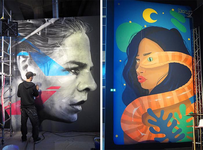 decines street art groupama