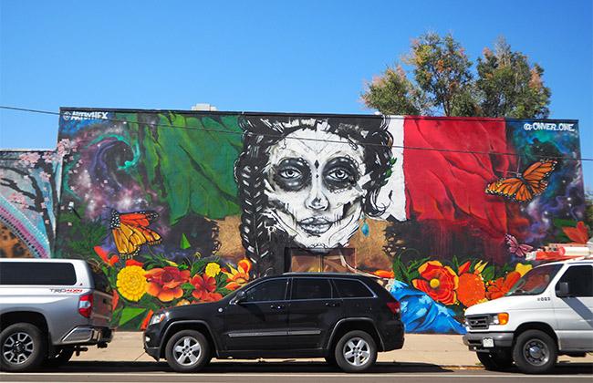 Denver street art Colorado