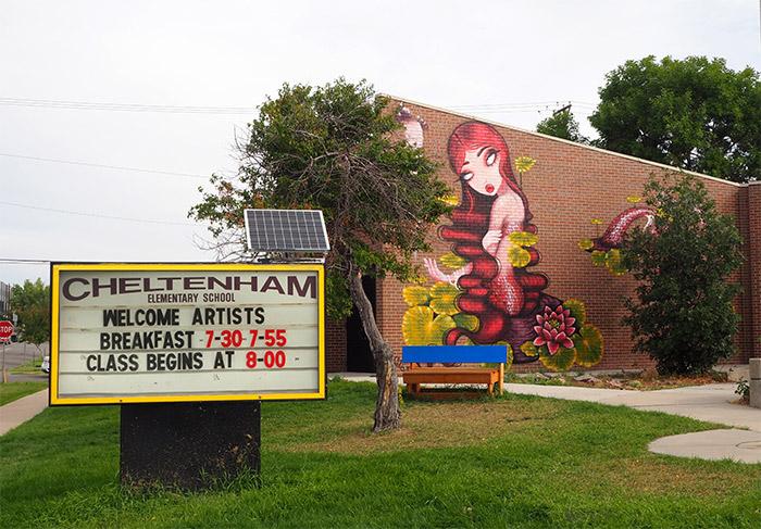 Denver Cheltenham Elementary Raw project