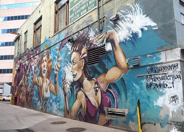Denver Big Wonderful festival street art