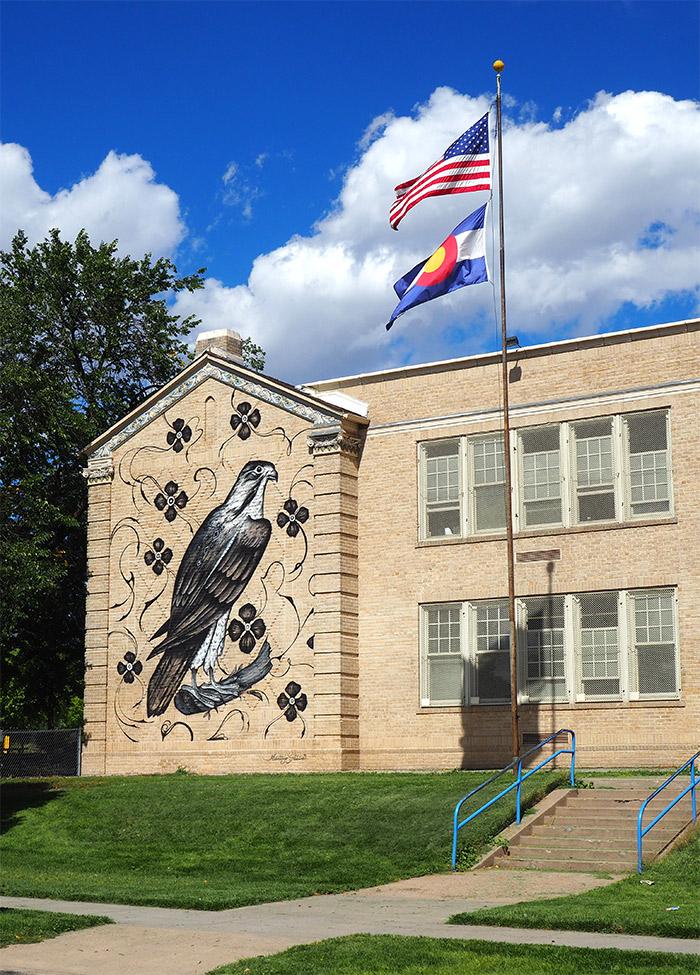 Fairview elementary raw project street art