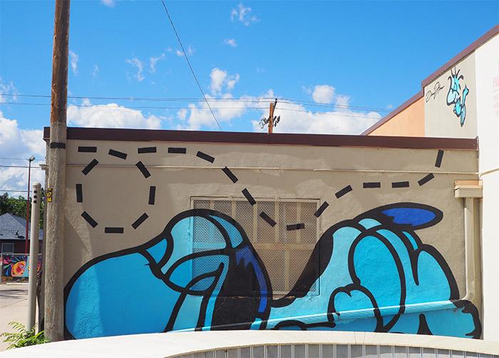 Denver Santa Fe street art