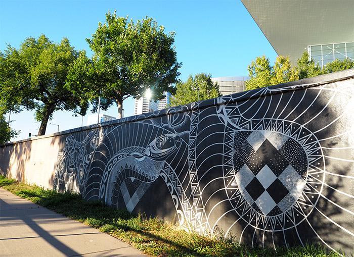 Cherry Creek trail street art