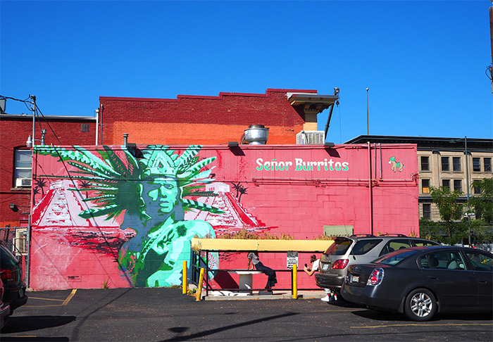 denver senor burritos street art