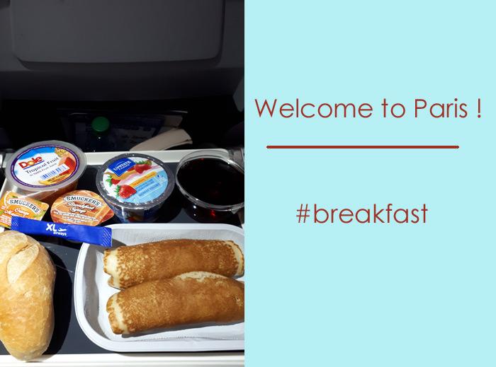 petit déjeuner XL airways